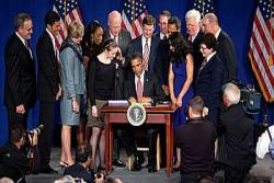 President Obama Signs the America Invents Act