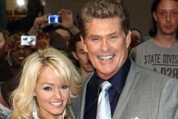 Hasselhoff proposes to Roberts